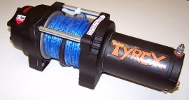 Tyrex Winch Atv 4000 Synthetic Rope