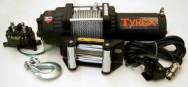 Tyrex Winch Atv 4000 Wire Rope