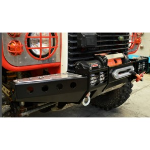 Raptor 4x4 Front Squared Winch Bumper With Winch Land Rover Defender 90 110 130