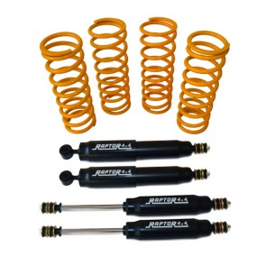 "Raptor 4x4 'Expedition' 2"" Suspension Lift Kit Land Rover Defender 90, Discovery 1, RRC"