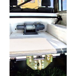 Raptor 4x4 Off Road Internal Rear Winch Carrier For Land Rover Defender 90