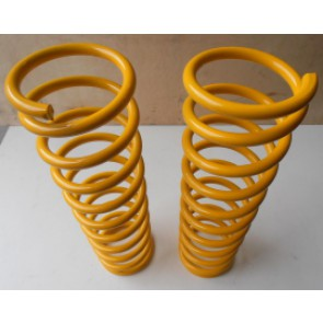 Raptor 4x4 Off Road Pair Of Rear Springs +5 Cm Yellow For Toyota Land Cruiser