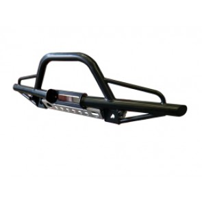 Raptor 4x4 Off Road Tubular Winch Bumper With A-Bar Land Rover Discovery I-II/Range Rover Classic