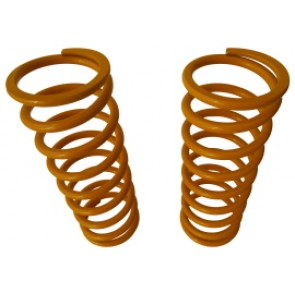 Raptor 4x4 Off Road Pair Of Front Springs +5 Cm Yellow  For Land Rover Defender / Discovery I - II / Range Rover Classic