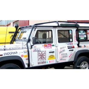 Raptor 4x4 Off Road External Roll Cage Type B Land Rover Defender 110