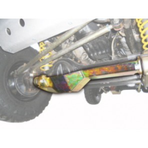 Raptor 4x4 Off Road Front Axle Protection For Toyota Lj 70 Round Lamp