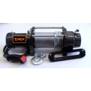 Tyrex Winch 8300 12v 7hp Wire Rope