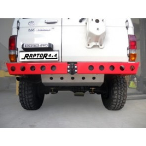 Raptor 4x4 Off Road Rear Squared Hd Bumper Toyota