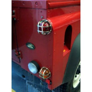 Raptor 4x4 Off Road Rear Lamp Guards Land Rover Defender