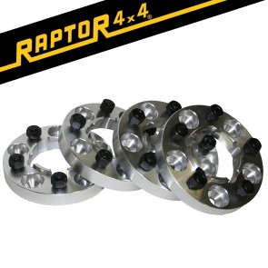 Raptor 4x4 + 45mm Aluminium Wheel Spacers x4