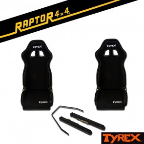 Raptor 4x4 Tyrex Sports Bucket Seats Pair