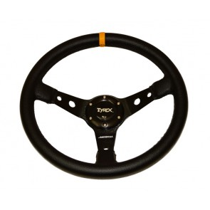 "Raptor 4x4 Tyrex 14"" Leather Sport Steering Wheel"