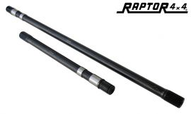 Raptor 4x4 HD 24 Spline Front Halfshafts For Land Rover Defender Discovery 1 RRC