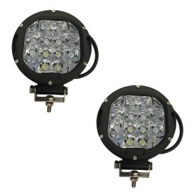 Tornado 60W Pair Round Spot Lights