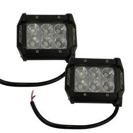 Tornado 18W Pair Rectangle Spot Lights