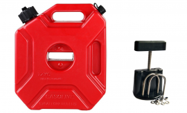 5L 5 Litre Jerry Can With Mounting Bracket Fastener