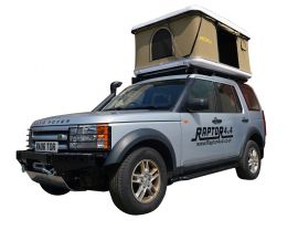 Raptor 4x4 Premium Hard Shell XL Roof Tent Land Rover Discovery 3