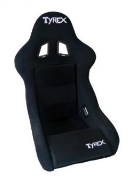 Tyrex Sports Seat Racing Total Black Fabric