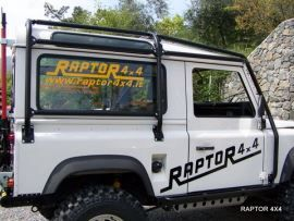 Raptor 4x4 Off Road External Roll Cage Type B Land Rover Defender 90 SW