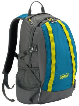 Coleman Hayden Creek Backpack 25Ltr-Coleman Neon Blue - Small Image