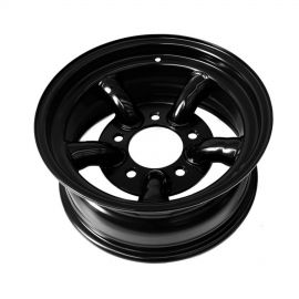 Raptor 4x4 Tyrex HD Land Rover Steel Wheel 7 X 16  -25 Offset Black