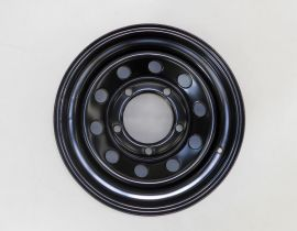 Tyrex HD Steel Wheel 7x16 +8 Black For Land Rover Discovery II