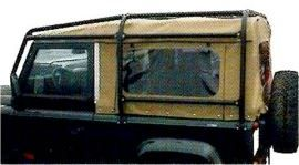 Raptor 4x4 Off Road External Roll Cage Type A Land Rover Defender 90 SW