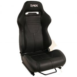 Tyrex Sports Seat Comfort Faux Leather Total Black