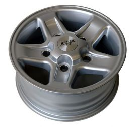 Raptor 4x4 Alloy Wheels Land Rover Defender Discovery 1 RRC 7x16 ET32 Silver