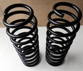 Raptor 4x4 Off Road Pair Of Front Springs +5 Cm Black Toyota Land Cruiser