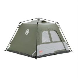 Coleman Instant Camping Festival Tourer Tent 4 Man Person Family Pitch Pop Up - Small Image