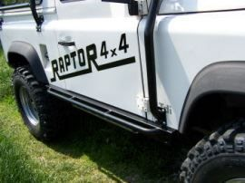 Raptor 4x4 Off Road HD Rocksliders For Land Rover Defender 90
