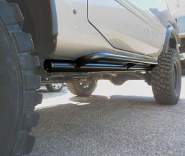 Raptor 4x4 Off Road HD Tubular Rock Sliders Side Guards Nissan Patrol GR Y61