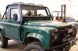 Raptor 4x4 Off Road Rear Racing Roll Cage Land Rover Defender 90 SW