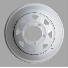 Tyrex HD Steel Wheel Offset -30 White Land Rover Defender , Discovery I, Range Rover Classic