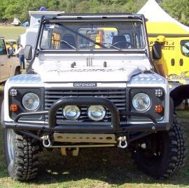 Raptor 4x4 Off Road Tubular Bumper Type C Land Rover Defender