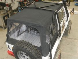 Raptor 4x4 Off Road Waterproof Soft Top Suzuki Samurai Black