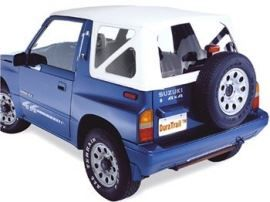 Raptor 4x4 Off Road Waterproof Soft Top Suzuki Samurai White