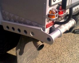 Raptor 4x4 Off Road Bumperettes Type B Defender 110
