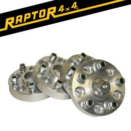 Raptor 4x4 30mm Aluminium Hubcentric Wheel Spacers Discovery 3/4