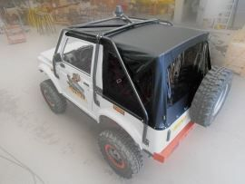 Raptor 4x4 Off Road Soft Top Suzuki Samurai Black