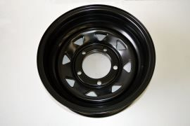 Tyrex Hd Steel Wheel Offset -35 Black Land Rover Defender, Discovery I, Range Rover Classic