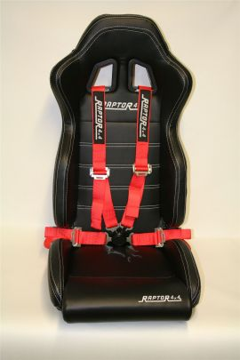 Raptor 4x4 Off Road Safety Belts 4 Points 2