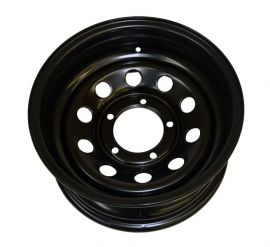 Raptor 4x4 Tyrex Modular HD Black Steel Wheel ET -30 7x15