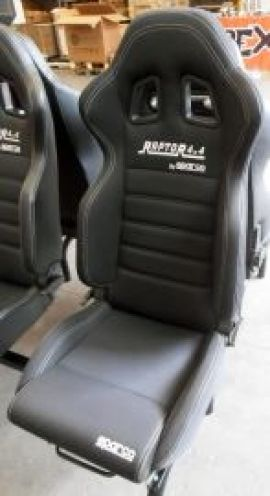Raptor 4x4 Off Road Raptor 4x4 By Sparco Sport Seat Fabric