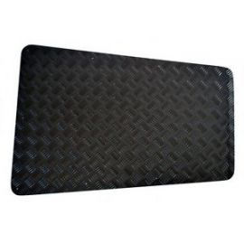 Land Rover Defender Bonnet Chequer Plate 2mm Black