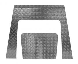 Land Rover Defender TD4 Puma Bonnet Chequer Plate
