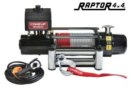 ComeUp DV-9 12v 9000lb Winch - Steel Rope