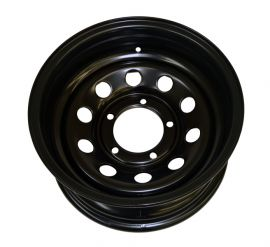 Suzuki Modular HD Steel Wheel 6x15 0 Offset Black