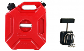 3L 3 Litre Jerry Can With Mounting Bracket Fastener